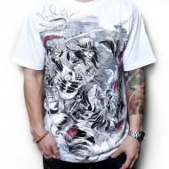 Samurai Dragon Limited Edition T-Shirt (White)